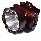 Налобный аккумуляторный фонарь YAJIA YJ-1898-1 | фонарик на лоб, фото 6