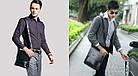 Кожаная сумка Polo Videng | мужская сумка Поло КОРИЧНЕВАЯ, фото 6