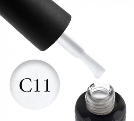 Камуфлирующая база OXXI Cover Base №11 (молочный, с серебряным шиммером),10 мл.