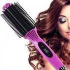 Электрическая расческа выпрямитель для волос NOVA NHC 8810   выравниватель   утюжок щетка, фото 3