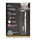 Триммер ROZIA Clipper HQ-203   машинка для стрижки волос   бритва мужская с насадками, фото 3