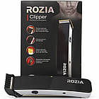 Триммер ROZIA Clipper HQ-203   машинка для стрижки волос   бритва мужская с насадками, фото 6