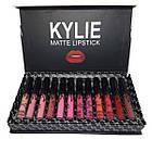 Набор жидких матовых помад Kylie Black edition черный с бантиком 12 штук   помада Кайли, фото 3