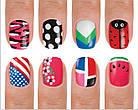 Набор для дизайна ногтей Hot designs | двойные лаки фломастеры | набор двойных лаков фломастеров для маникюра, фото 4