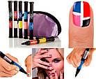 Набор для дизайна ногтей Hot designs | двойные лаки фломастеры | набор двойных лаков фломастеров для маникюра, фото 9