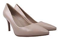 Туфли шпилька Liici женские эко-кожа, цвет бежевые, размер 35-39