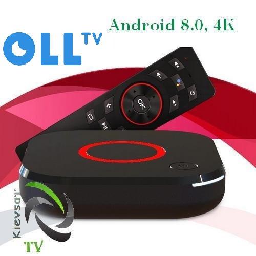 Оll.TV BOX «Премиум»+ 220 каналов, 75 в HD, видеотека
