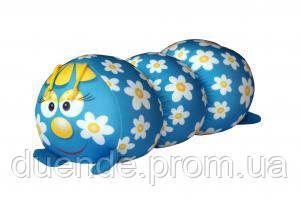 Арт-подушка іграшка антистрес, полистерольні кульки 38х18 см / tp - 12аси03ив