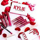 Матовая жидкая губная помада Kylie matte liquid lipstick, 6 штук в наборе Кайли, фото 4