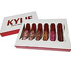 Матовая жидкая губная помада Kylie matte liquid lipstick, 6 штук в наборе Кайли, фото 7