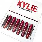 Матовая жидкая губная помада Kylie matte liquid lipstick, 6 штук в наборе Кайли, фото 9