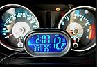 Многофункциональные автомобильные электронные часы VST 7009V | термометр вольтметр | автомочасы, фото 3