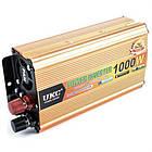Преобразователь автомобильный напряжения инвертор AC/DC SSK 1000W 24V, фото 2