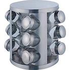 Набор баночек для специй Benson BN-176 из 12 сосудов | спецовник 12 шт на подставке, фото 2