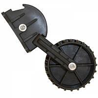 Колеса транцевые Kolibri (пластиковые) черные