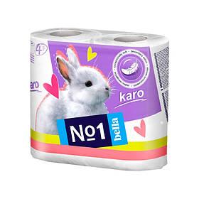 Туалетний папір Bella Karo 4 шт упаковка