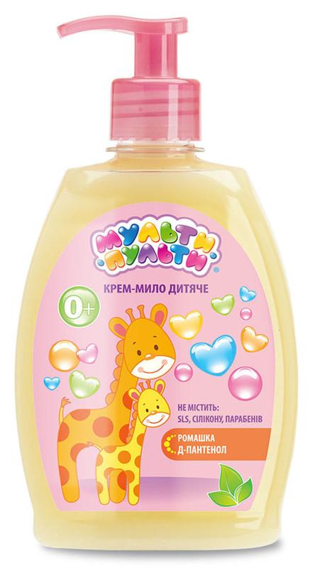 Крем-мыло Velta Cosmetic Мульти-Пульти детское с экстрактом ромашки 330 гр