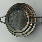 Набор сеточек для чая (8см+10см+12см) BN-271 | сеточка для чая | маленькое сито | ситечко для заваривания чая, фото 2