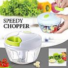 Ручной кухонный измельчитель Multifunctional High Speedy Chopper | овощерезка | блендер шинковка, фото 5