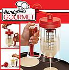 Универсальный ручной миксер для теста с диспенсером Pancake Machine | дозатор для выпечки , фото 3