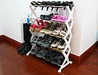 Полка для обуви Shoe Rack на 15 пар | Стойка для хранения обуви Шур Рек, фото 4