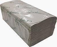 "Бумажные полотенца ""Кохавинка"" V типа, 23х25см (170шт), серые"