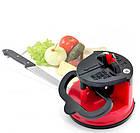 Точилка для кухонных ножей Knife Sharpener H0180 | ножеточка на присоске, фото 3