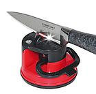 Точилка для кухонных ножей Knife Sharpener H0180 | ножеточка на присоске, фото 4