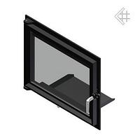 Дверца для камина Kratki Maja|Antek 491x600 мм