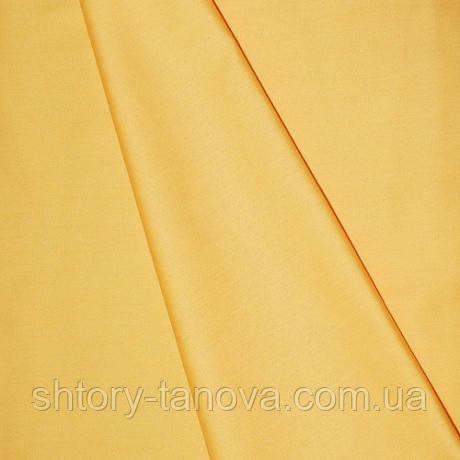 Сатин для штор Іспанія жовтий
