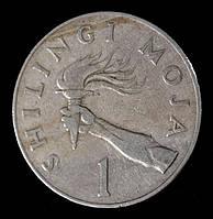 Монета Танзании 1 шиллинг 1977 г.