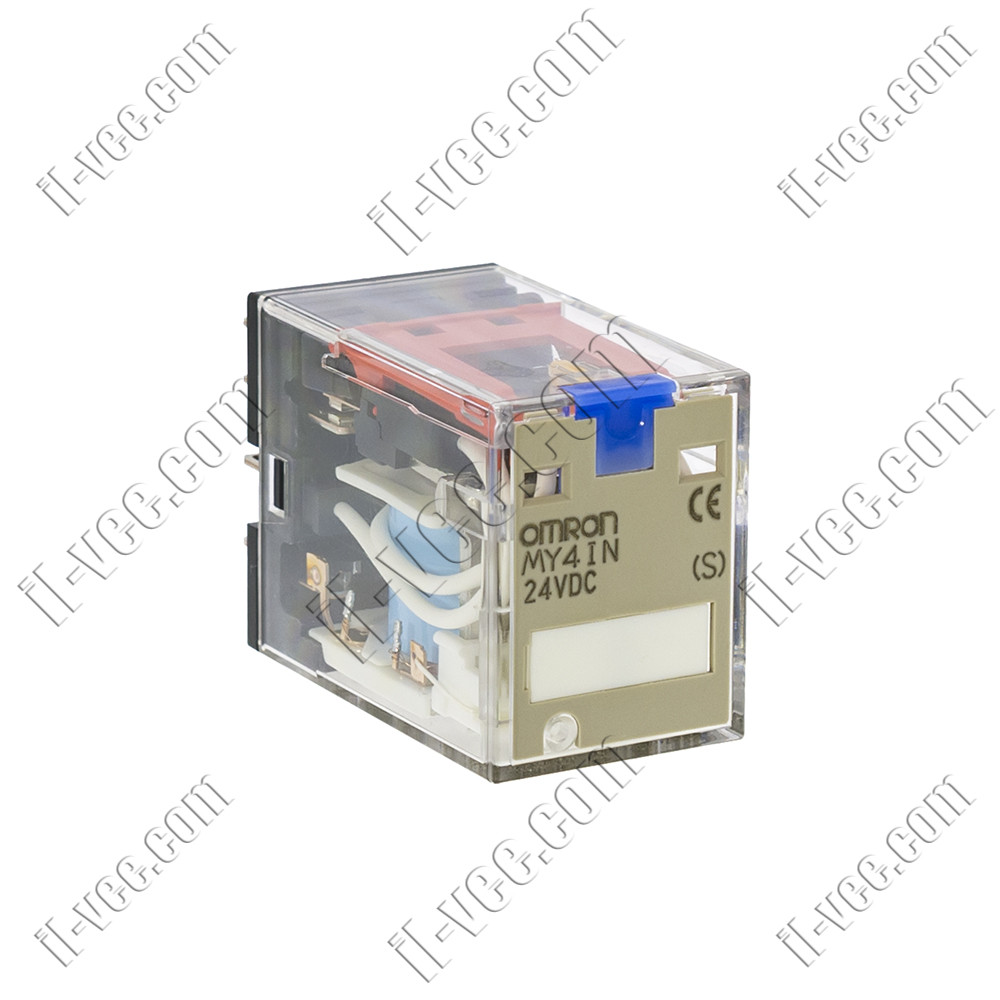 Реле OMRON MY4IN 24VDC, 5A/220VAC, 5A/24VDC