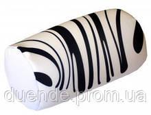 Подушка валик интерьерный Абстракция антистрессовый, полистерольные шарики, размер 38*18 см / tp - 15асв03ив-1