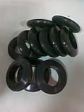 Футеровка, гуммировка, обрезинивание роликов конвейеров виброизоляционными резиновыми, кольцами., фото 8