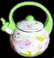 Эмалированный чайник 2.2 л.Swiss Boch SB-0017A