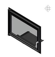 Дверца для камина Kratki Oliwia/Wiktor 515x738 мм