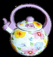 Эмалированный чайник 2.2 л.Swiss Boch SB-0017B