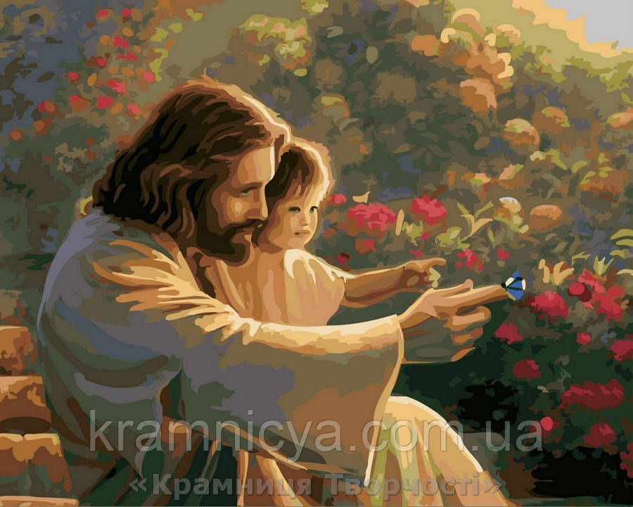 Картина по номерам 40x50 Вместе с Богом, Rainbow Art (GX26161)