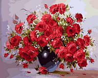 Картина по номерам 40x50 Аромат красных роз, Rainbow Art (GX28754), фото 1