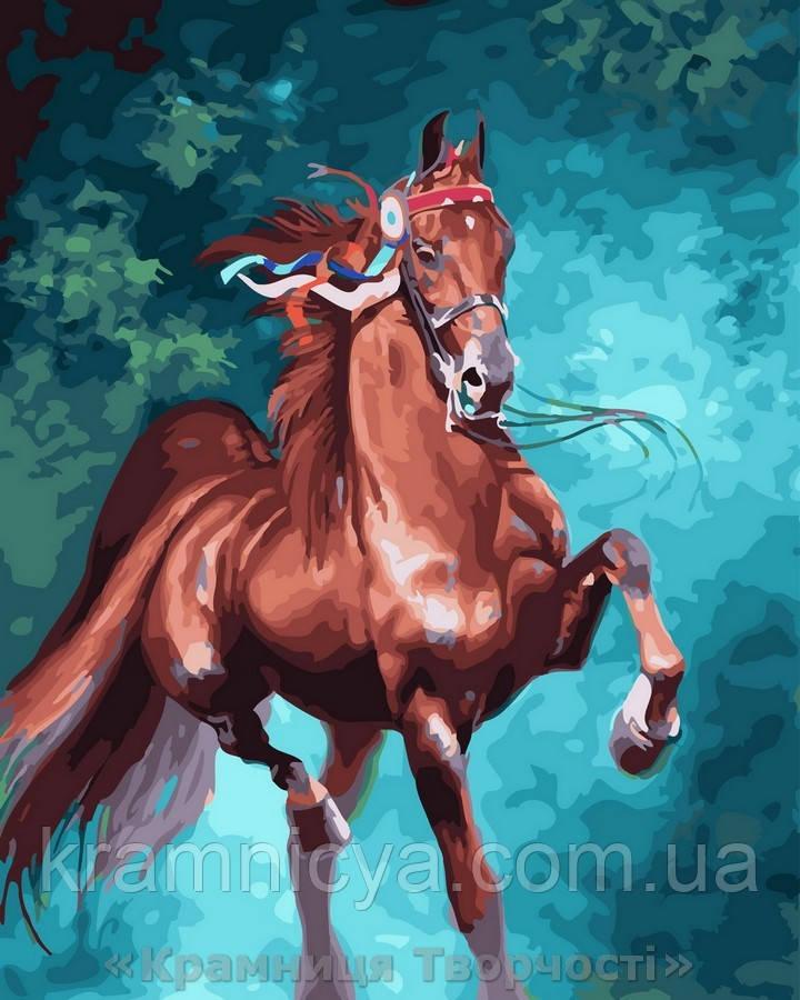 Картина по номерам 40x50 Грациозная лошадь, Rainbow Art (GX28799)