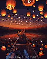 Картина по номерам 40x50 Небо в фонарях, Rainbow Art (GX30566), фото 1