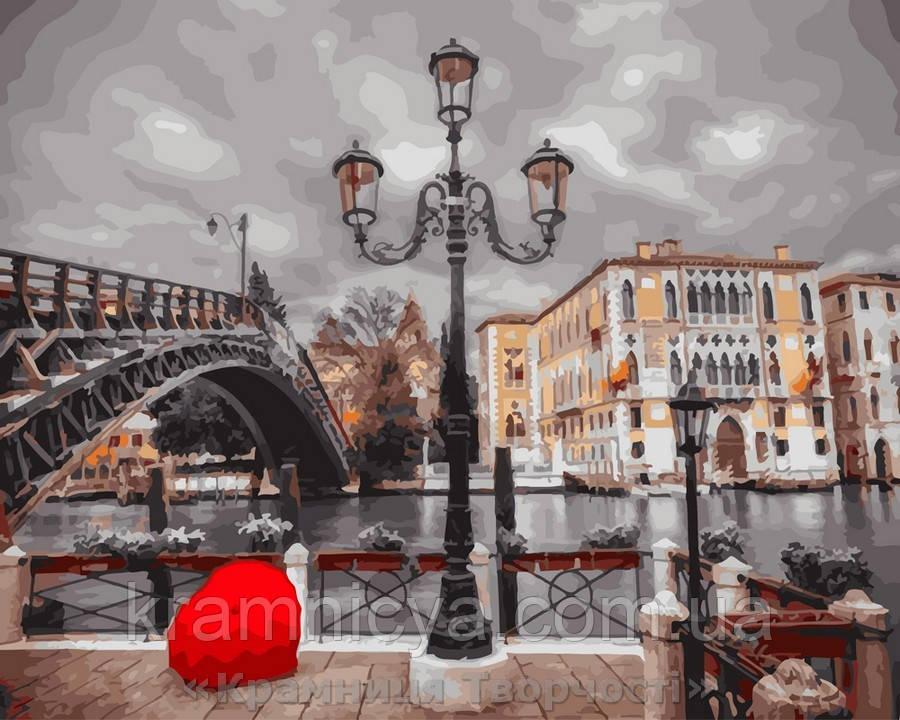 Картина по номерам 40x50 Набережная во Флоренции, Rainbow Art (GX23340)