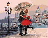 Алмазная картина-раскраска 40х50 Свидание в Венеции, Rainbow Art (GZS1005), фото 1