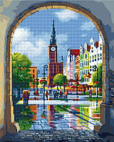 Алмазная картина-раскраска 40х50 Старый Амстердам, Rainbow Art (GZS1028), фото 1