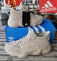 Мужские ботинки кроссовки Adidas Yeezy Boost 500. Унисекс