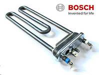 ТЭН для стиральных машин Bosch, Siemens 2000W/200мм  с отверствием под датчик  изг. Thermowatt