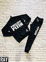 """Спортивный мужской костюм Philip Plein, размеры S-2XL (2 цв.) """"A.ROSSI"""" купить недорого от прямого поставщика"""