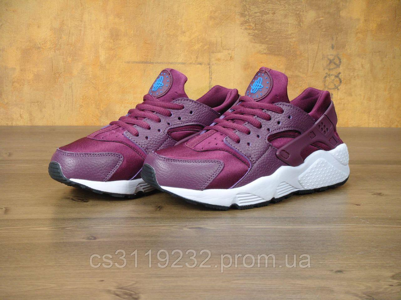 Женские кроссовки Nike Air Huarache (фиолетовые)
