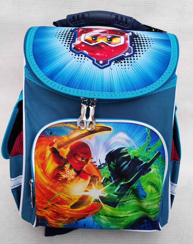 Школьный ортопедический ранец от фирмы SMILE для мальчика Ninjago 988556