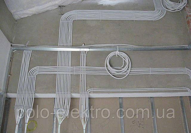 монтаж проводки открытая и скрытая проводка